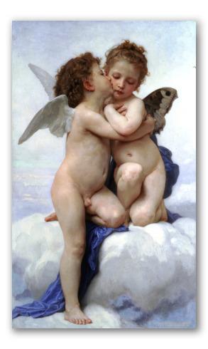 Cupido y Psique, Niños
