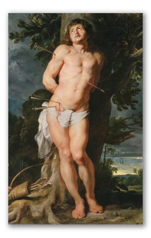 """""""San Sebastián"""" de Rubens"""