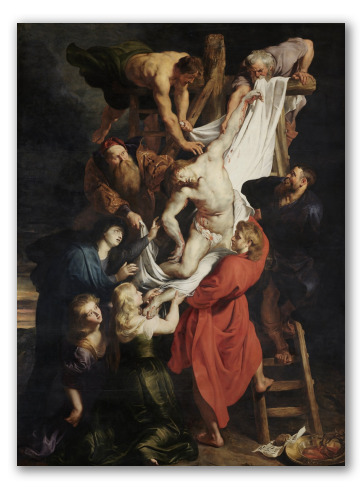 "Cuadro ""El descendimiento de la cruz"""