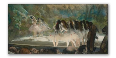 """Obra """"Ballet de la Ópera de París"""""""