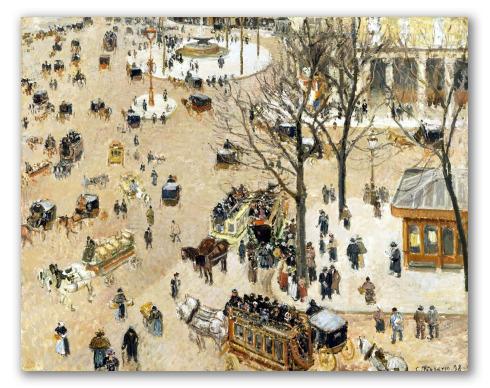 La Plaza del Teatro Francés