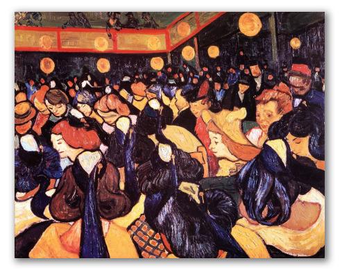 Salón de Baile en Arles