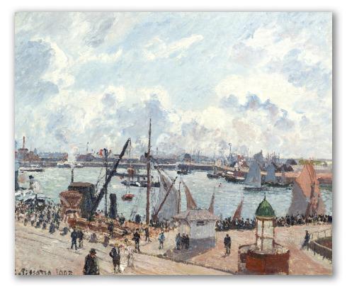 El Antepuerto de Havre por la Mañana