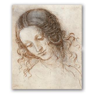Cabeza de Leda - Leonardo