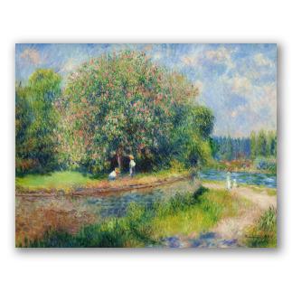 Castaño en flor - Renoir