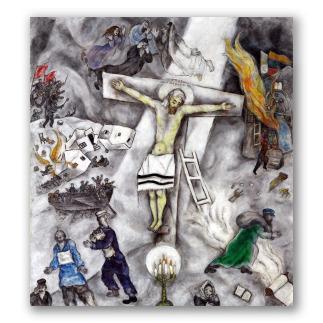 Crucifixión blanca
