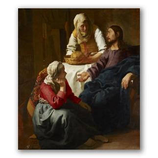 Cristo en Casa de Marta y María - J. Vermeer