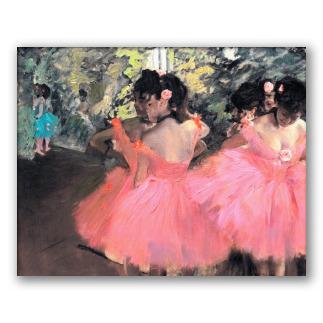 Bailarinas de rosa