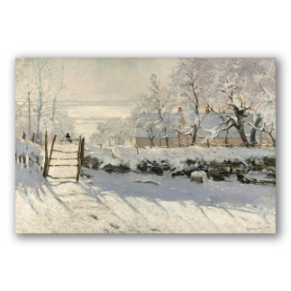 La Urraca - Claude Monet