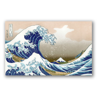 La gran ola de Kanagawa, K. Hokusai