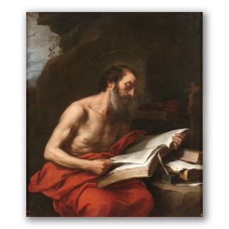 San Jerónimo leyendo