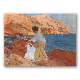Clotilde y Elena en las Rocas