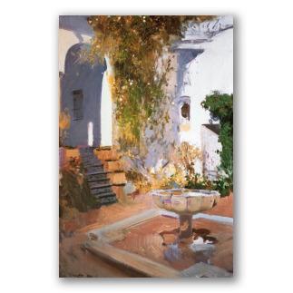 Gruta del Jardín de Sevilla